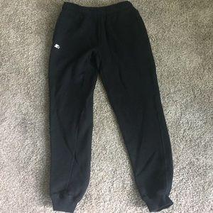 Starter Size Small Jogger Sweatpants. Black.